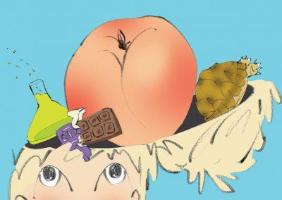 What did Roald Dahl drop in your head?